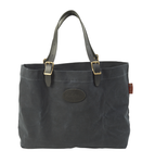 The heritage black Bazaar Tote can be used as a baby bag, oversized purse, or a grocery getter. It has a zipper bag inside to keep valuables safe.