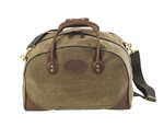 The bridle leather handles and solid brass hardware ensure that this bag will not fail.