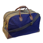 Two-tone medium flight bag by Frost River, Back. Limited Build.