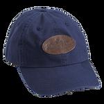 Navy, Embroidered Logo Cotton Cap