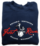 Frost River Made in the USA Crewneck Sweatshirt, Navy