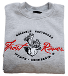 Frost River Made in the USA Crewneck Sweatshirt, Grey