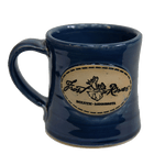 Duluth Pottery Handcrafted Mug for Frost River, Glossy Navy Single