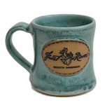 Duluth Pottery Handcrafted Mug for Frost River, Matte Blue Single