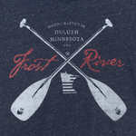 Frost River Crossed Paddles logo