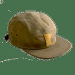5-Panel Waxed Canvas Hat with Minnesota Palamino buckskin patch.