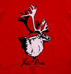 Nothing says Frost River like Henry, our Caribou mascot.