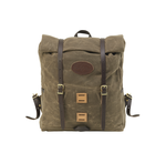 Front No.398, Arrowhead Trail Rolltop Daypack compresses and expands depending on your capacity needs.