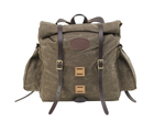 No. 397, Arrowhead ECO Front. The ECO series offers expandable exterior pockets on either side of the Arrowhead Daypack. This bag is slightly larger than the No. 396.