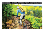 Duluth Traverse Postcard Front, illustrated by Duluth's Rick Kollath