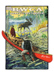 BWCA Postcard Front, illustrated by Duluth's Rick Kollath