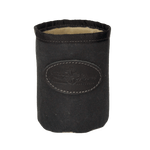 Waxed canvas Can Insulator in Crowler size, Heritage Black.