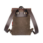 Lookout Daggett Day Pack, Bridle leather straps that will break in overtime.