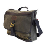 The Tettegouche Messenger has a cotton web handle at the top for quick grab and go.