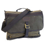 Tettegouche Messenger Bag, Made from 100% solar energy and handcrafted in Duluth, Minnesota USA.