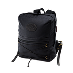 The standard Itinerant Daypack is available in heritage black in addition to field tan.