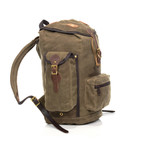 This pack is made in the USA by artisans at Frost River. The quality goods will allow this bag to last for years to come.