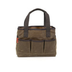 The Crosby Garden Tote has two different sizes allowing for more storage, carrying capability, and options. This tote is made in Duluth, MN at Frost River.