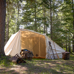 The Campfire Tent is handmade and built to last for years to come. This item is made in the USA  at Frost River.