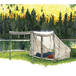 This item is available in two sizes to accommodate more peoples needs. Poles and an end cover are available for purchase. This product is very durable and weather resistant.