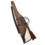 The sherpa lining will keep your gun safe and protected from the elements. The strong, durable, and water resistant waxed canvas is sure to last a lifetime.