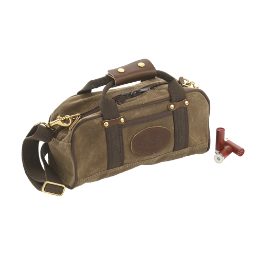 This versatile shoulder and handbag can double as a day pack or can hold six boxes of shotgun shells.