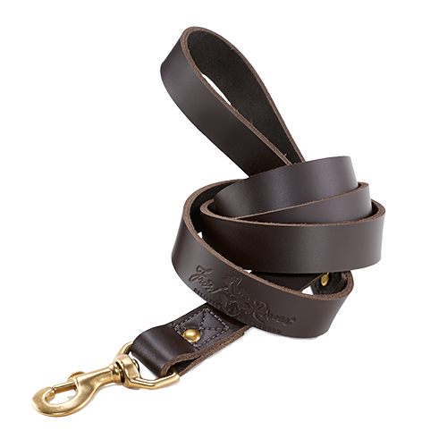 The Premium Leather used for this leash is high quality and is sure to not fail. This product has a large handle for the owner and solid brass hardware to complete the leash.