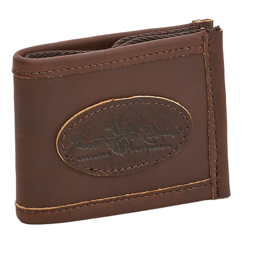 The real leather and waxed canvas are crafted together in Duluth, MN to make the Leather Bi-fold wallet. This wallet is built to last and gets better with time.