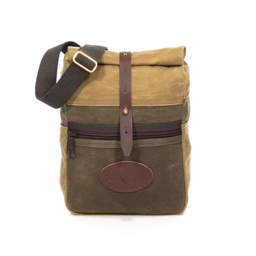 The Skyline Rolldown Satchel is perfect for biking, hiking, or a stroll on the shores of Lake Superior.