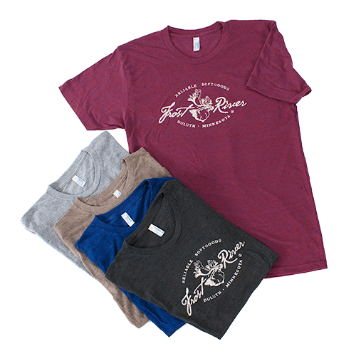 Distressed Logo Frost River T-Shirts