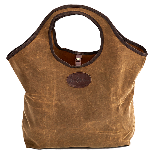 This tote is a great alternative to disposable grocery bags and its size will hold many items.