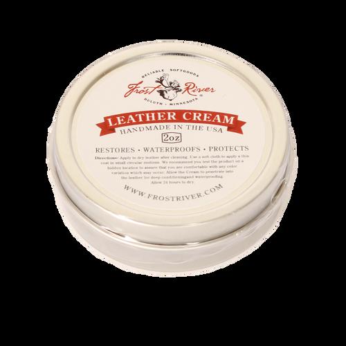 Leather Cream 2oz Tin