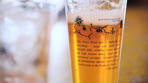 Frost River Pint Glass
