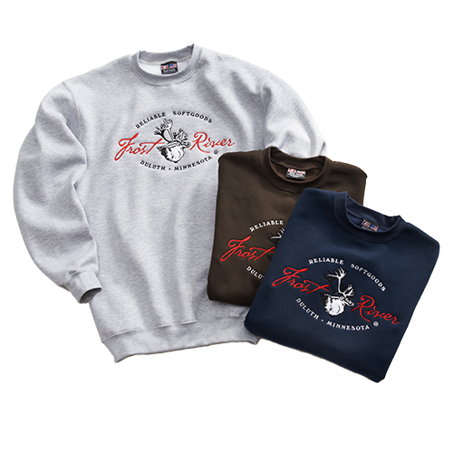 Frost River Made in the USA Crewneck Sweatshirt
