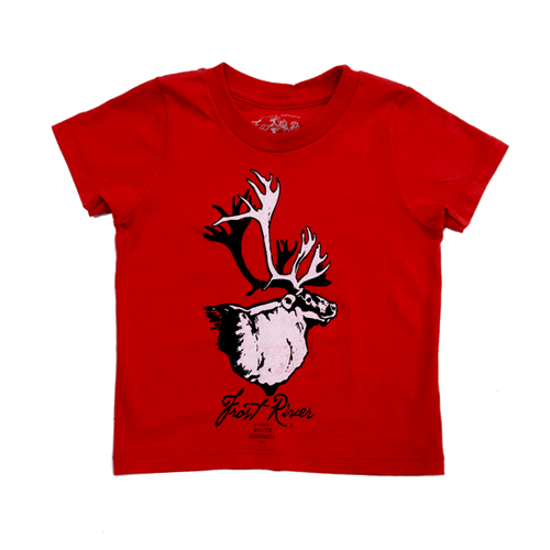 Toddler sized Red Henry T-Shirt.
