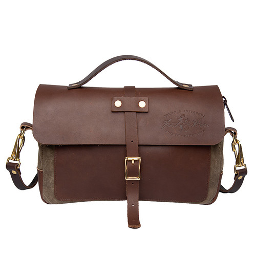 Naturalist Baggley Brief front, made in USA by Frost River.