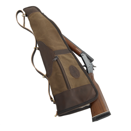 This high quality case is meant to make carrying a gun easier. The barrel is kept separate from the stock and receiver to increase the ease of portability.