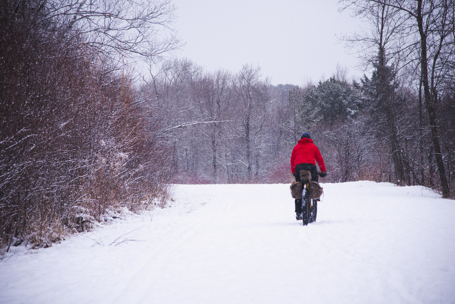 A Winter Fat Bike Ride in Duluth