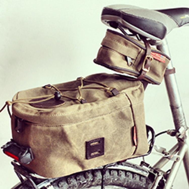 Bike Bags - Seat Wedge and Trunk