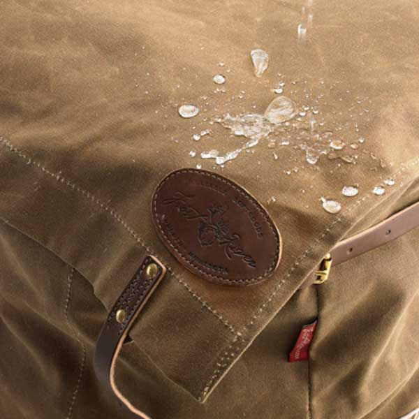 Care and cleaning of waxed canvas