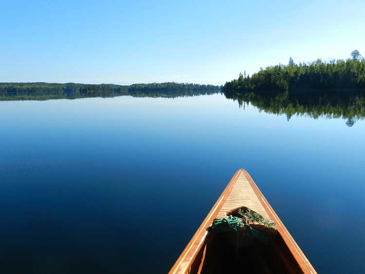 Fishing in the BWCAW Canoe Country