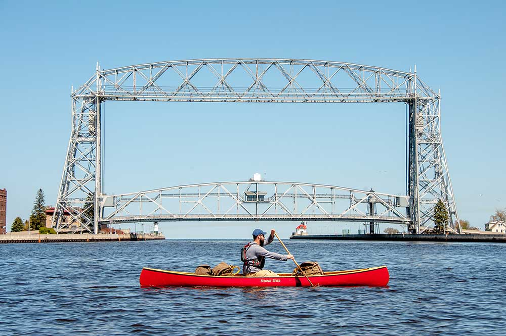 Traveling Duluth in Early Summer