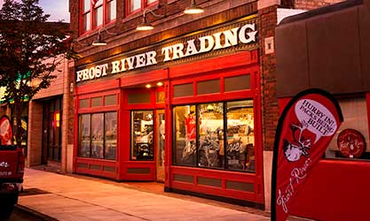 The Handcrafted Hub of Frost River... The Store!