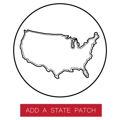 Personalize your pack with a state patch.