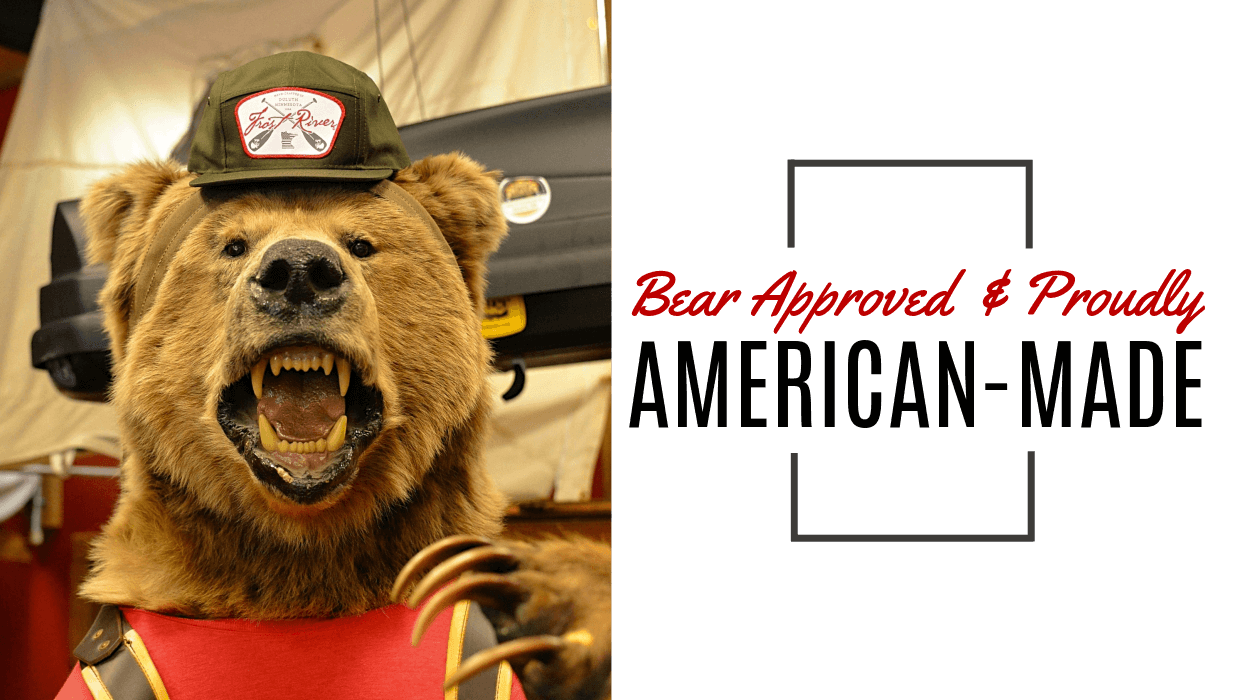 Bear Approved and Proudly American MAde