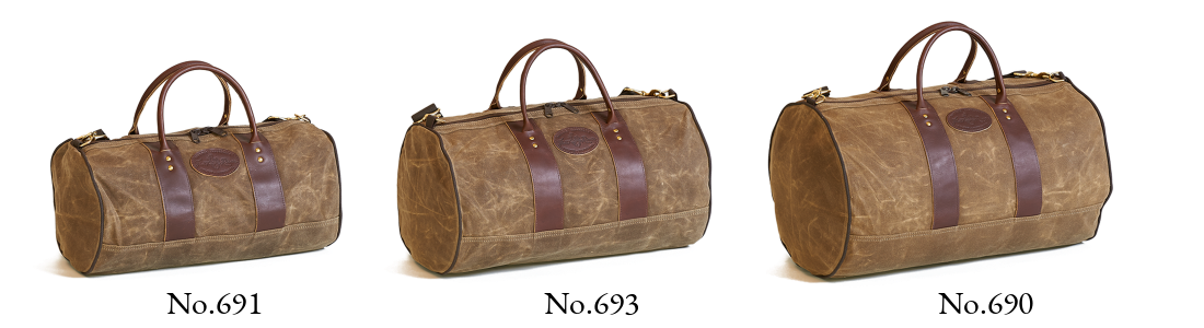ImOut Duffel Bag Collection, waxed canvas soft-sided luggage perfect to grab and go.