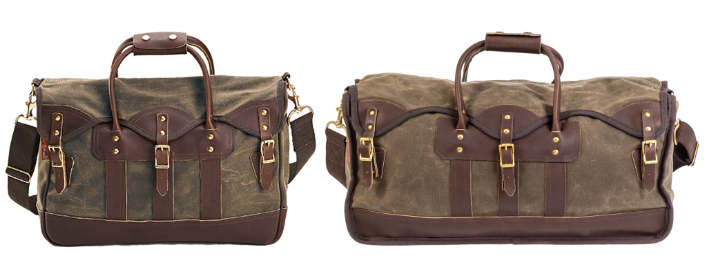 Overland Valise Weekender & Carry-on Premium Waxed Canvas Luggage