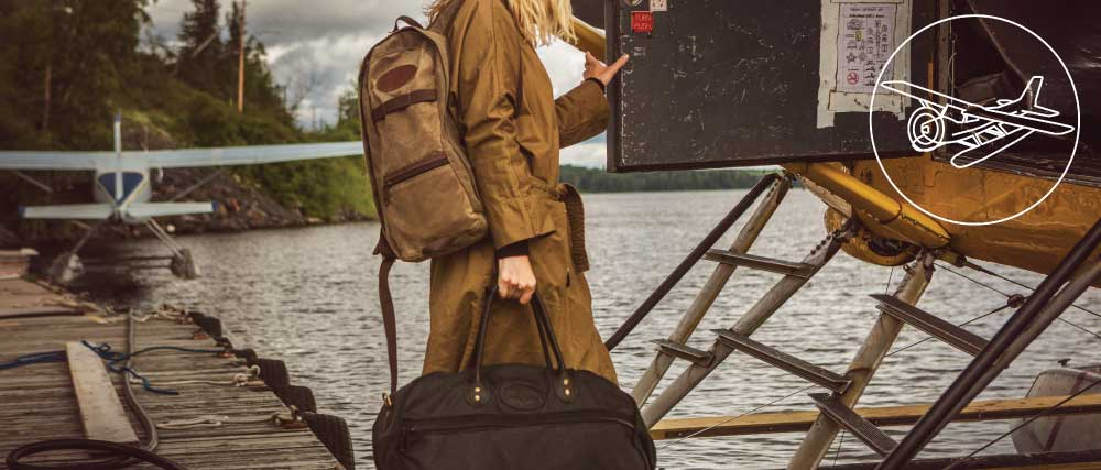 Frost River Waxed Canvas Travel Luggage