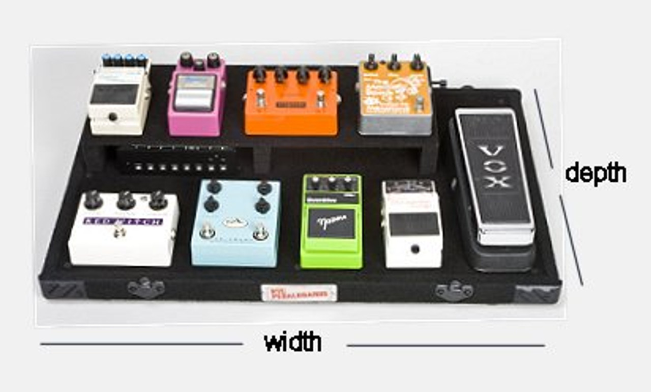 Custom Size Pedalboard/Case Combo (up to 29