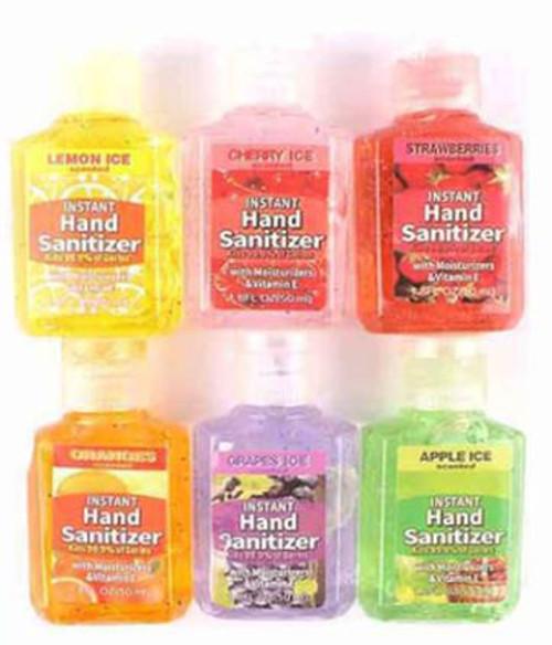 Hand Sanitizer Flip Top (W)